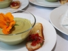 Chilled Cucumber and Avacado Soup