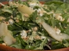 Organic Greens with Pear, Hazelnut and Gorgonzola